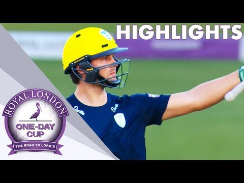 Rossouw Hits 90 Off 68 For Hampshire Against Surrey - Royal London One-Day Cup 2018 Highlights