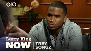 The Downside Of Being A Sex Symbol | Trey Songz Interview | Larry King Now - Ora TV