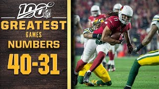 100 Greatest Games: Numbers 40-31 | NFL 100