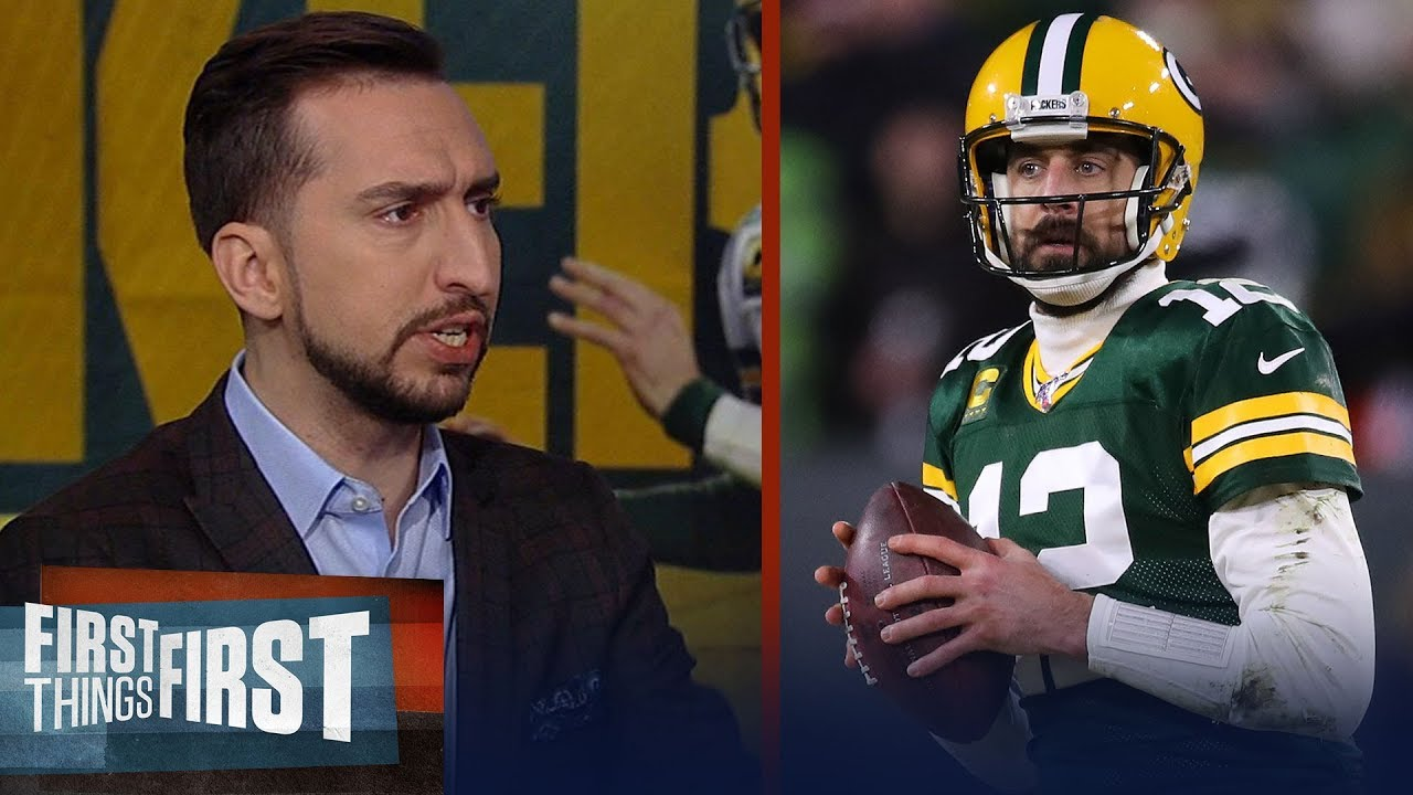 Aaron Rodgers has the most pressure to beat the 49ers — Nick Wright | NFL | FIRST THINGS FIRST