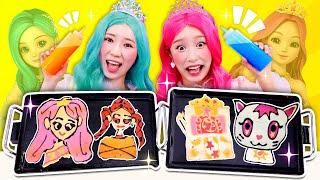 [시크릿쥬쥬] 쥬쥬 신디 팬케이크 챌린지 Pancake challenge