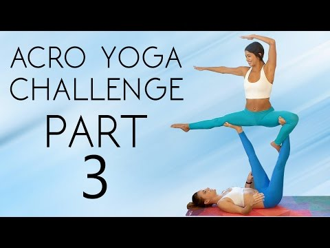 Learn a Yoga Challenge & Workout to Help You Master It! 20 Minute Partner Flexibility, Acro Tutorial