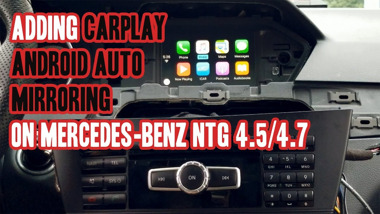 mercedes comand online android auto