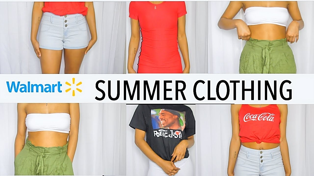 SUMMER MUST HAVE OUTFITS FROM WALMART!!! 2