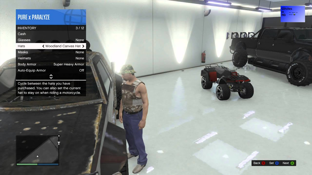 How to equip the garage