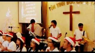 EEVC Band - Mừng anh vui Giáng sinh
