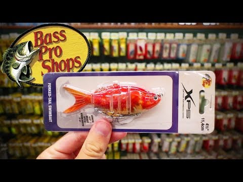 Bass Pro Shops LURES ONLY Fishing Challenge (Surprising!)
