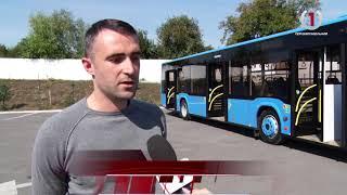 Вже незабаром Ужгородом курсуватимуть сучасні великогабаритні автобуси