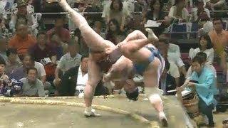 平成25年秋場所8日目 すげぇ... sumo 大相撲.