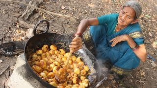 Special 100 Eggs Curry Recipe By My Grandma || Myna Street Food || Food Info
