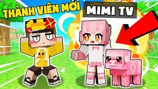 Mimi TV là ai ? MrVit tìm thấy THÀNH VIÊN MỚI trong làng Hero Team Minecraft