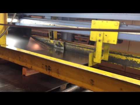 1500mm x 3mm x 15 ton Gabella Multi-Blanking Line