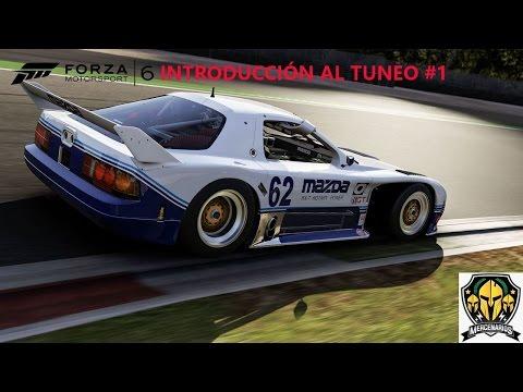 Forza Motorsport 6: Introducción al tuneo. Neumaticos y transmisión.  #1