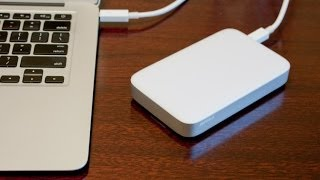 Buffalo MiniStation Portable Thunderbolt Hard drive Review