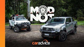 Mod or Not: 2018 Toyota Hilux Rugged X v Modded Hilux