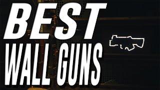 BEST Wall Weapons in Black Ops 3 Zombies (Best Wall Gun in BO3 Zombies)