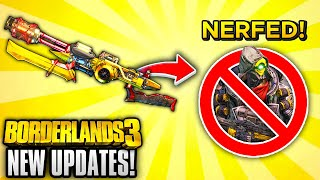 Borderlands 3 HUGE NEW UPDATE - EVERYTHING YOU NEED TO KNOW!