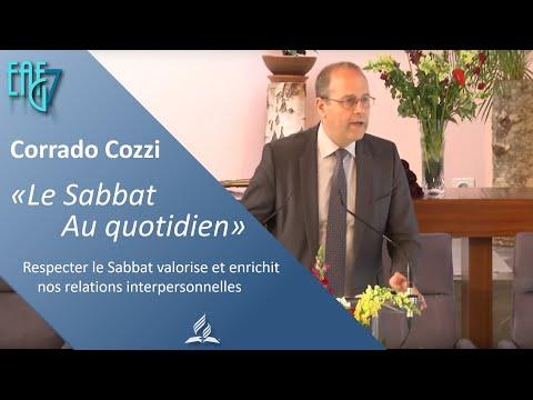 Le Sabbat au quotidien! par Pasteur Corrado Cozzi