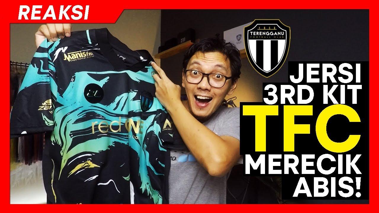 Download REVIEW JERSI   WOW! Jersi Ke-3 Terengganu FC 2021   Merecik abis!