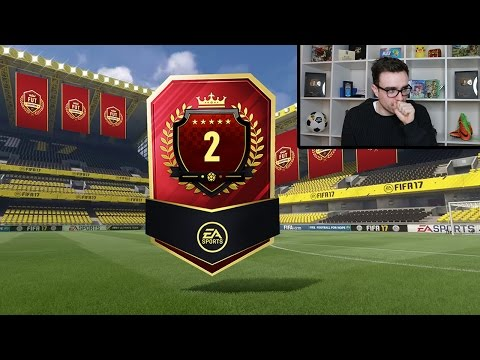 2ND IN THE WORLD FUT CHAMPS REWARDS!!! Fifa 17 Pack Opening