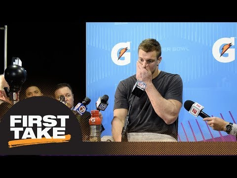 First Take debates if Gronk is serious about retirement | First Take | ESPN