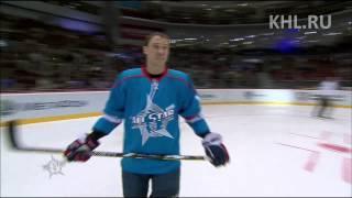 KHL All Star: Броски на точность в парах / Shooting Accuracy in pairs