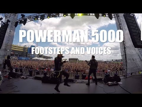 POWERMAN 5000  Footsteps and Voices