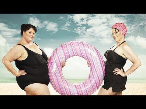 Скрываем Лишний Вес на Пляже