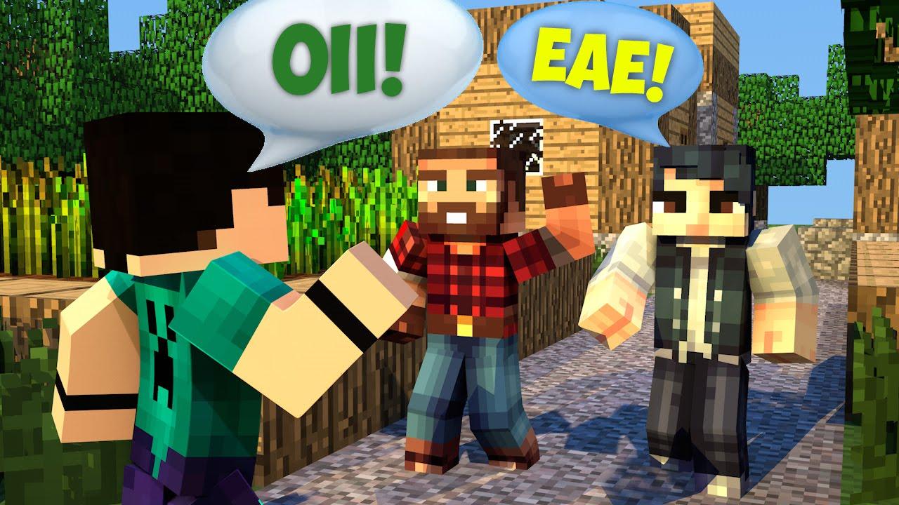 Minecraft vida real 2 fiz amigos comes alive mod for Videos de minecraft en la vida real