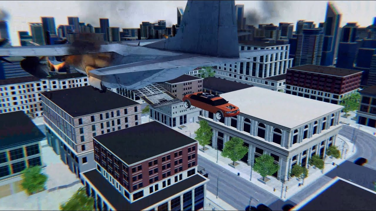 Transformer falling cutscene made with unity cinemachine
