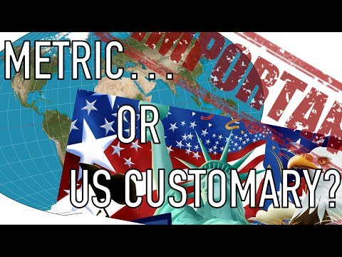 metric vs customary