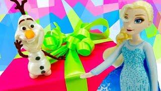 Холодное сердце - Эльза и сюрприз для Анны! - Принцессы Дисней.