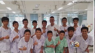 Doctor Visits 12 Boys In Hospital After Caring For Them While Trapped In Thailand Cave