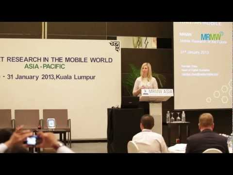 MRMW - Mobile Research of the Future - Kantar Operations