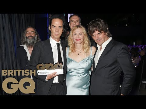 Nick Cave & The Bad Seeds Win Band of the Year | Men of the Year Awards 2017 | British GQ