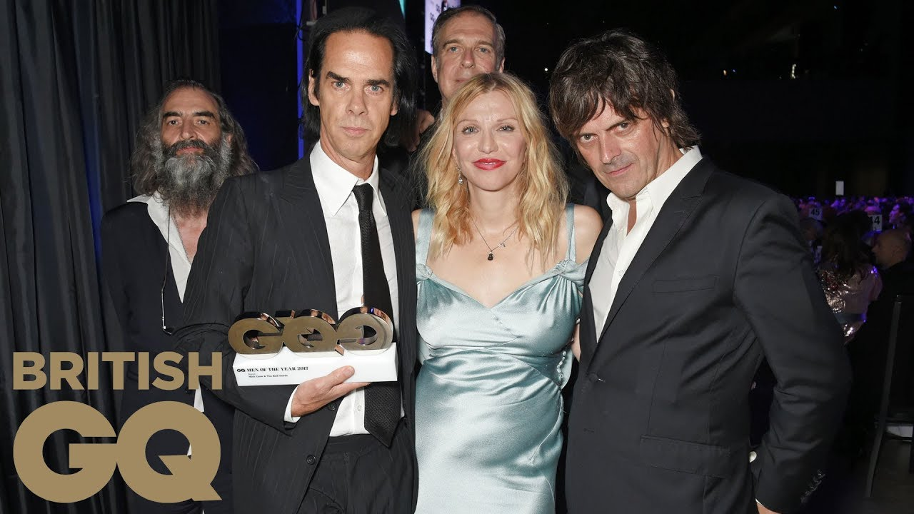 nick cave and the bad seeds  Nick Cave & The Bad Seeds Win Band of the Year | Men of the Year ...