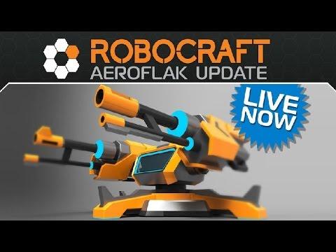 Robocraft   AeroFlak Update Overview + Gameplay!