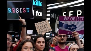 Trump signs new policy that would ban most trans troops