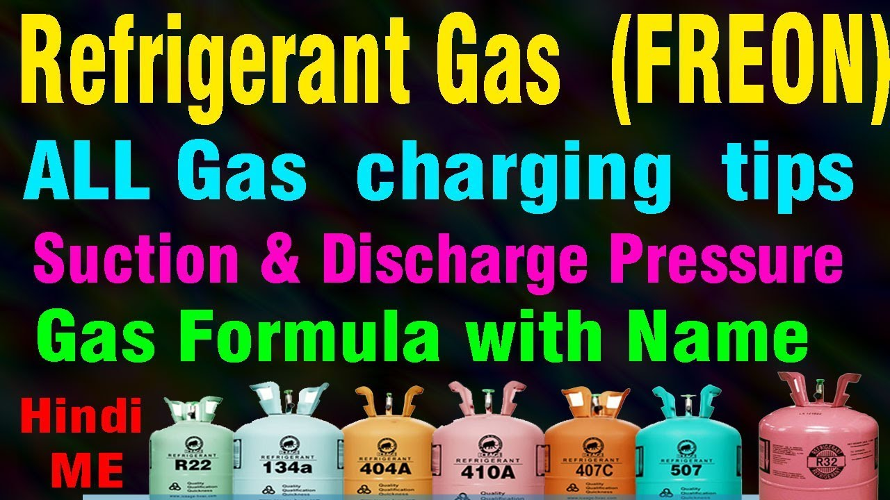 How Much Is Freon >> Refrigerant Gas Pressure Most Popular Gas Use Standing Running Pressure How Much Learn This Video