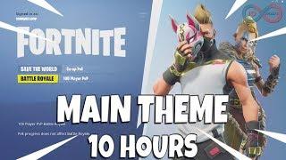Fortnite Battle Royale Theme Song 10 Hours (Season 5)