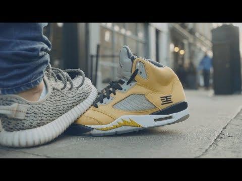 Stepping on Jordan 5 Tokyo - Crep Protect Eraser