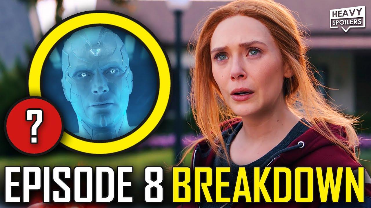 WANDAVISION Episode 8 Breakdown & Ending Explained Spoiler Review | Marvel Easter Eggs & Theories