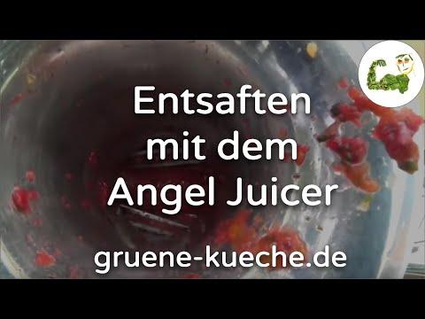 Entsaften mit dem Angel Juicer 5500 (Teil 2)