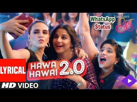 hawa-hawai-|-vidya-balan-|-tumhari-sallu-|-whatsapp-status-hd-video-song-|-top-series