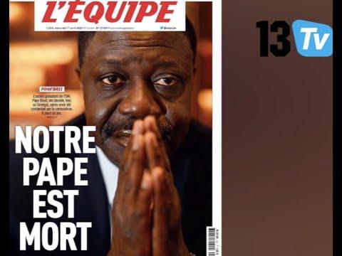 Le monde sportif rend hommage à Pape Diouf, ancien président de l'OM disparu ce Mardi à Dakar!