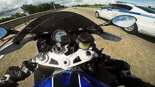 BMW HP4 & S1000RR MOTO CRAZY SPEED RUN | 18+