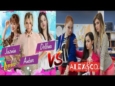 Ambar, Delfina e Jazmin Vs Rebecca, Linda e Samantha [ SOY LUNA VS ALEX E CO ]