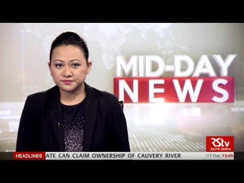 English News Bulletin – Feb 17, 2018 (1 pm)