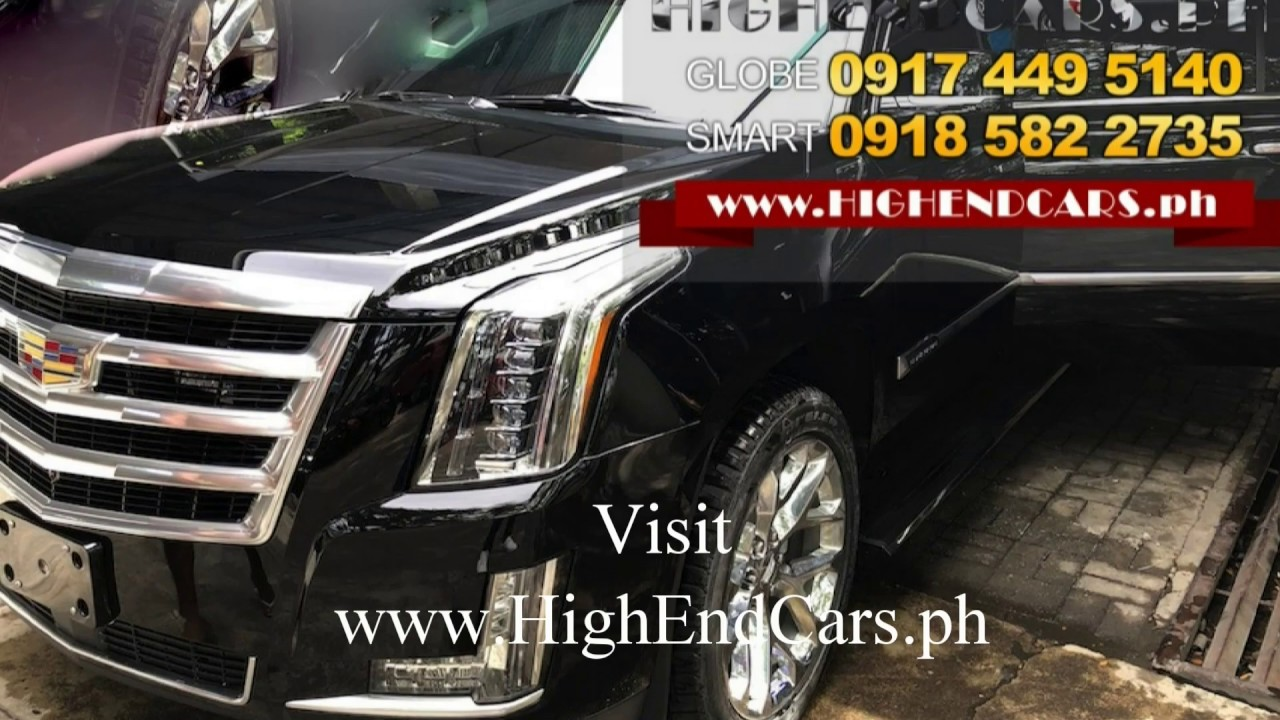 indent order 2020 cadillac escalade vip limo customized