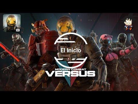 Download Modern Combat Versus Android: New Online Multiplayer FPS El Inicio